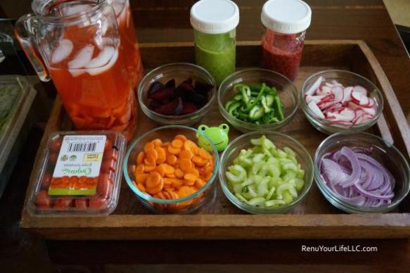 Salad and dressings