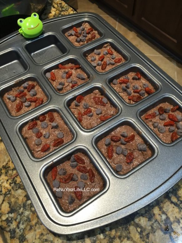 Brownies ready to go into oven Optm