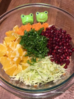 Cabbage pomegranate Optm